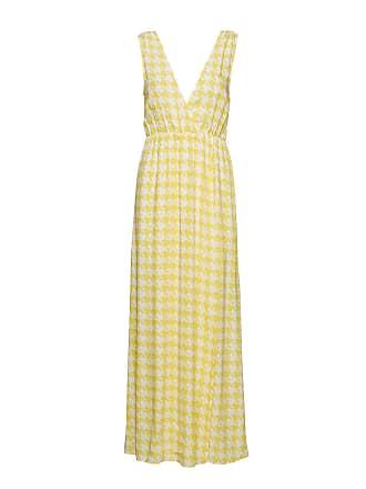 a3a62a9088f0 IvyRevel Maxi Dress With Slit Maxiklänning Festklänning Gul IVYREVEL