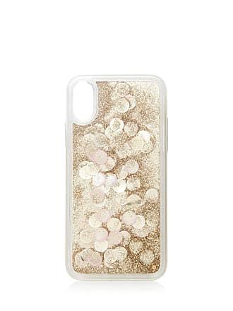Forever New Confetti Shaky Phone Case (iX) - Gold Glitter - 00