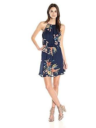 Joie Womens Makana E Floral Dress, Dark Navy XS