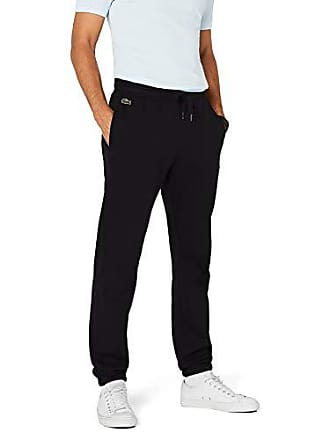 c7d4f4f7a6eb0 Lacoste XH120T - Pantalon de sport - Relaxed - Homme - Noir (Noir) -