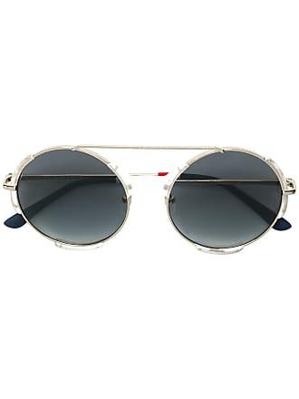 Orlebar Brown Óculos de sol redondo Orlebar - Metálico