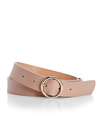 Simons Round-buckle belt
