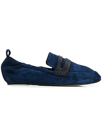 Lanvin suede loafers - Blue