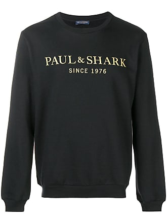 Paul & Shark Moletom com estampa de logo - Preto