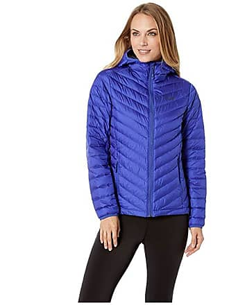 50d3c58479d Mountain Hardwear Micro Ratio Hooded Down Jacket (Blue Print) Womens Coat