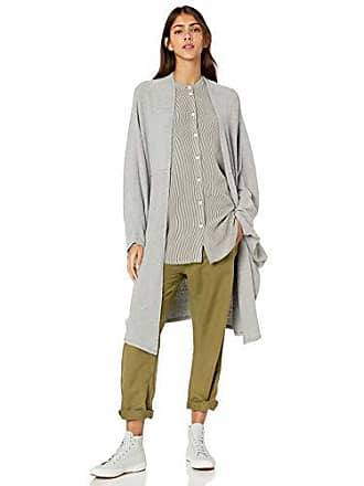 Chaser Womens Love Knit Cocoon Cardigan, Heather Grey, XS/S