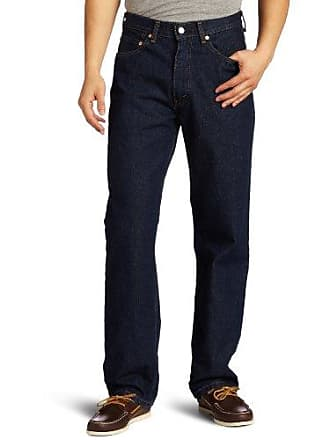 Levi's Mens 550 Relaxed-fit Jean, Rinse, 38X32