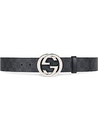 Gucci Cinto GG Supreme com fivela G - Preto