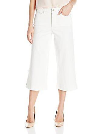NYDJ Womens Kate Culotte Pants, Spotless White, 0