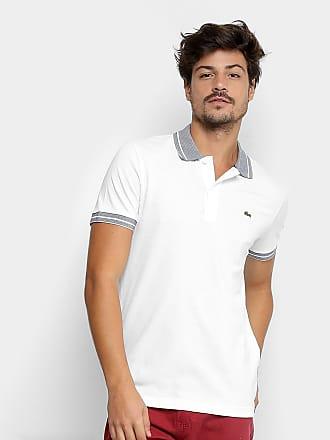 4966c9481 Lacoste Camisa Polo Lacoste Piquet Frisos Masculina - Masculino