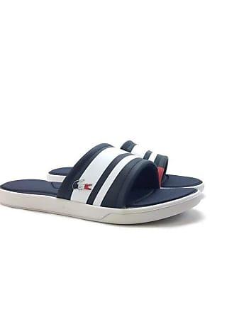 8eec63a153 Lacoste Womens L.30 Slide 317 1 Pool Shower Open Toe Bach Summer Sandals -