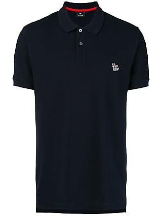 Paul Smith Camisa polo com logo - Azul