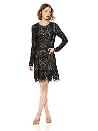 ea0ce1c6ade Bcbgmaxazria BCBGMax Azria Womens Marae Knit Lace and Illusion Dress