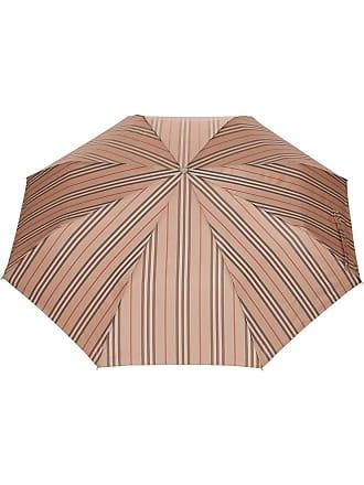 Burberry Guarda-chuva Icon com listras - Neutro