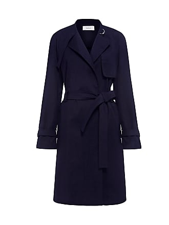 A.L.C. ETHAN TRENCH COAT Navy