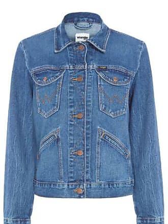 Wrangler Jaqueta Jeans Import Wrangler - Azul