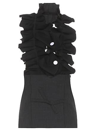 Jacquemus Le Haut Flamenco wool and cotton top