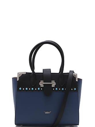 Vogue Bolsa Vogue Pedraria Azul