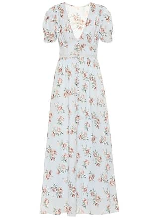 LoveShackFancy Stacy floral cotton dress