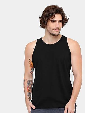 KOHMAR Camiseta Regata Básica Masculina kohmar- Preta- 101