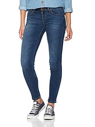 24e1c9a5 Lee Scarlett Low Jean Skinny Bleu (Yankee Blue Kjmn), W24/L31 Femme