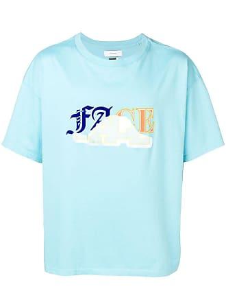Facetasm Camiseta com estampa gráfica - Azul