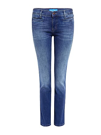Mih Jeans Paris Mid Rise Cropped Jeans Bee Wash