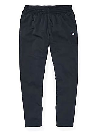 Champion Mens Heritage Track Pant, Black, Small