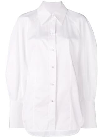 Khaite Camisa lisa com botões - Branco