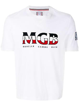 Moncler Camiseta com logo - Branco