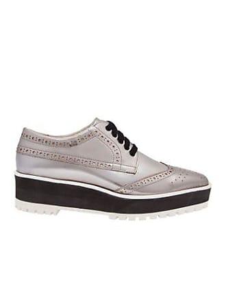 24c29d8f20 Vinci Shoes Oxford flatform silver VINCI SHOES - prata