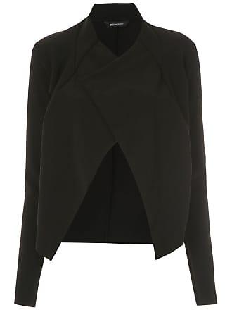 Uma Mana draped jacket - Black