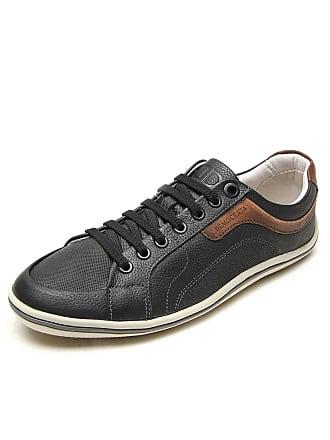 Preto Democrata® Sapatos De Couro  Compre com até −28%   Stylight 6deaf91fc7