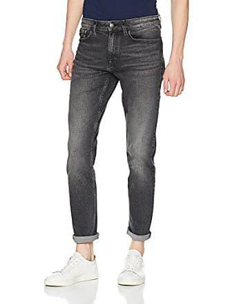 414783bd1497a Calvin Klein Jean Skinny, Gris (Dark Stone), W34/L32 Homme