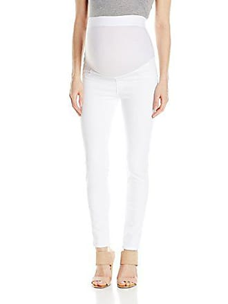 fba6ed466cad73 James Jeans Womens Maternity Twiggy Faux Pocket Jean Legging, Frost White 28