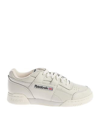 266ad31a62139 Classic Leather Trainers In Black Leather. £45.50 £65.00. Delivery  free.  Reebok Cream-colored Workout Plus Mu sneakers