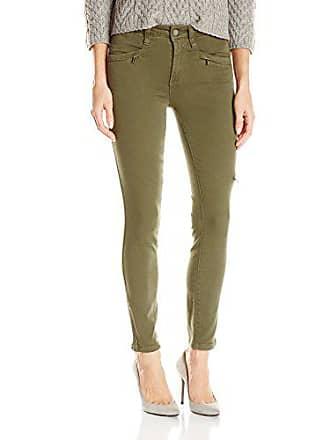 Paige Womens Daryn Zip Ankle Jeans-Olive Leaf, 25