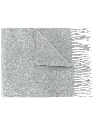 Pringle Of Scotland slim knit scarf - Cinza