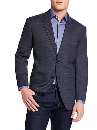 Neiman Marcus Mens Wool Travel Blazer Jacket