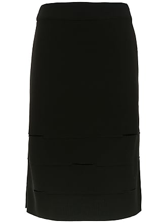 Uma Amadeus cut out detailed skirt - Black