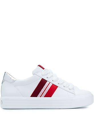Kennel & Schmenger stripe appliqué sneakers - Branco
