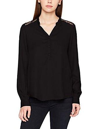1af887eed8484 Vero Moda Vmsharpa L s Shirt D2-8, Blouse Femme, Noir (