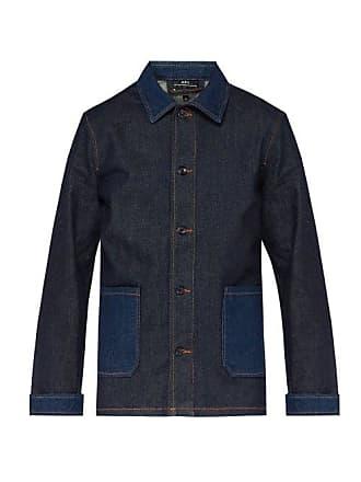 4a2cb47a60e A.P.C. A.p.c. - Mathis Point Collar Denim Jacket - Mens - Indigo
