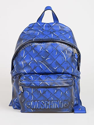 Moschino Printed Leather Backpack size Unica