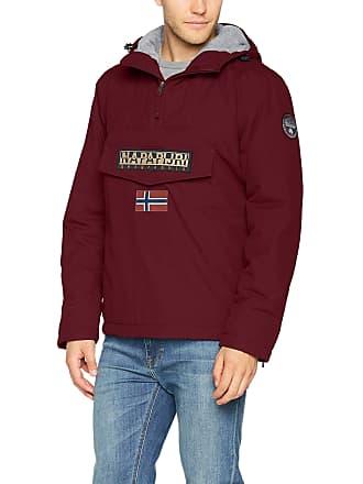 Napapijri Menss Rainforest Winter Jacket Red (Bordeaux R82) 21f8854f56f