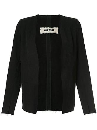 Uma Wang v-neck jacket - Black