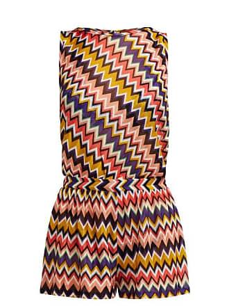b7ec149d7031ec Missoni Multicoloured Zigzag Playsuit - Womens - Multi