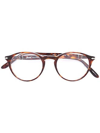 Persol Óculos armação redonda - Marrom
