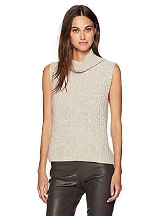 Vince Womens Sleeveless Turtleneck Sweater, Hazel XS