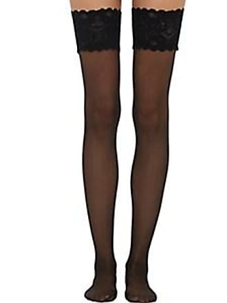 2e5735747 Wolford Womens Satin Touch 20 Stay-Up Stockings - Black Size XS